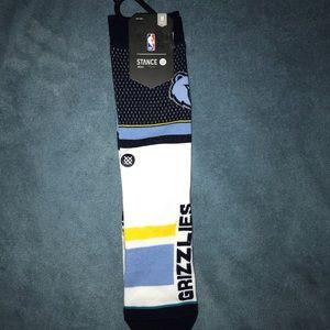 Memphis Grizzlies Socks
